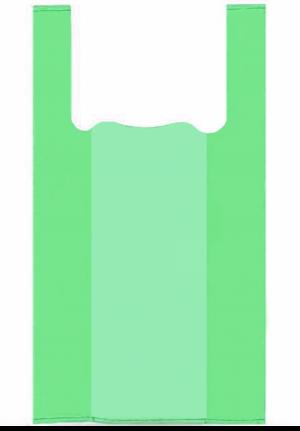 Биоразлагаемый пакет майка 28*50 см