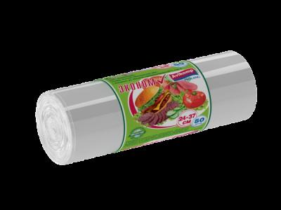 Фасовочный пакет ПВД 24*37 см 25 мкм рулон